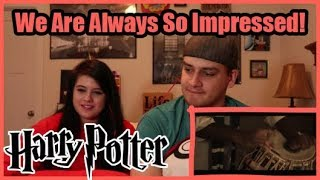 Download ″Harry Potter Music (Indian Version) | Tushar Lall | The Indian Jam Project″ | COUPLE'S REACTION Video