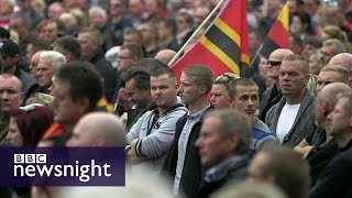 Download Germany's asylum policy fuels 'rise' in far right - Newsnight Video