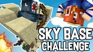 Download INSANE SKY BASE CHALLENGE in BEDWARS!! - Minecraft Mini Game Video