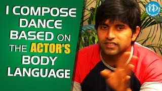 Download I Compose Dance Based On The Actor's Body Language - Choreographer Jani Master Video