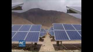 Download On China's sunniest plateau, 600,000 Tibetans use solar power Video