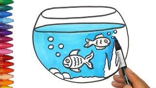 Download Cara menggambar tangki ikan - Cara Menggambar dan Mewarnai TV Anak Video