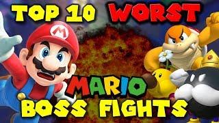 Download Top 10 WORST Mario BOSS FIGHTS! Video