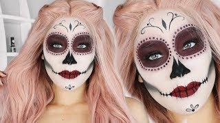 Dia De Los Muertos Day Of The Dead Makeup Tutorial Ca Lottery - Day-of-the-dead-makeup-tutorial-video