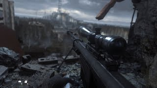 Download One Shot, One Kill ! Beautiful Sniper Mission from Call of Duty Modern Warfare Remastered Video