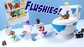 Download Flush Force Series 1 Blind Toilet Flushies & Collect-A-Bowl Toys Spin Master Video