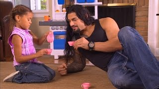 Download Roman Reigns takes time to be a dad Video