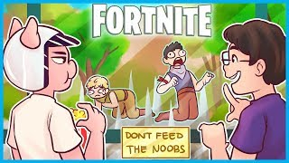Download WELCOME to the NOOB TRAP EXHIBIT in Fortnite: Battle Royale! (Fortnite Funny Moments) Video