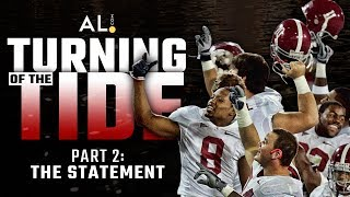 Download Turning of the Tide | Part 2: The Statement; How beating Clemson, Georgia launched Alabama's dynasty Video