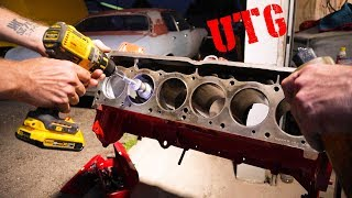 Download Wrenching Classic Cars-Home Style Engine Rebuild Part 5 Video