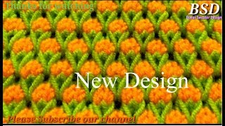 Download Beautiful Two Color knitting Sweater Design    Double color pattern Koti Design for Girls and Female Video