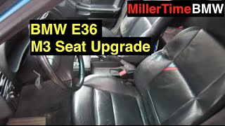 Download E36 Race Car M3 Seat Install - Season 2 Episode 2 Video
