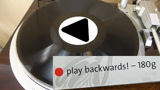 Download This ″Backwards″ Vinyl Record isn't just a gimmick Video