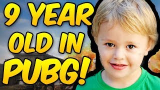 Download 9 YEAR OLD PLAYS PUBG! Hilarious Game Video