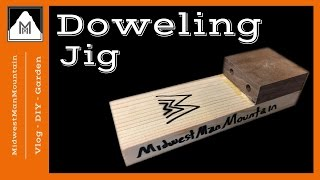 Download How to Make a SUPER SIMPLE Doweling Jig Video