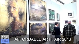 Download AFFORDABLE ART FAIR 2016 Video