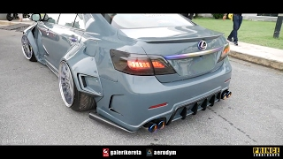 Download SUPER WIDEBODY FENDERS TOYOTA CAMRY - Race Day Thailand 2017 Video