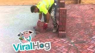 Download This Is How You Lay Bricks || ViralHog Video