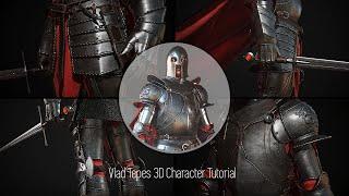 Download Tibi Neag Dracula Tutorial 11 Modeling helmets, simulating cape in Marvelous Video