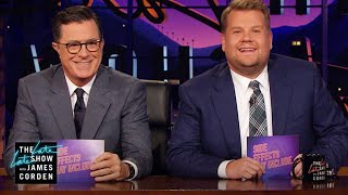 Download Side Effects May Include w/ Stephen Colbert Video