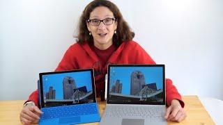 Download Microsoft Surface Book vs. Surface Pro 4 Comparison Video