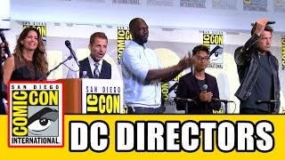 Download DC Comic Con Directors Ben Affleck, Patty Jenkins, Zack Snyder, David Ayer, Rick Famuyiwa, James Wan Video