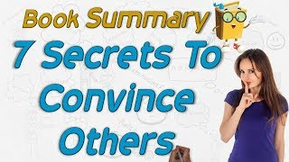 Download How to convince others (Hindi) Animated summary of 7 secrets of persuasion By WEREAD Video