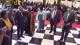 Download Zuma, Uhuru take to the dance floor at state banquet Video