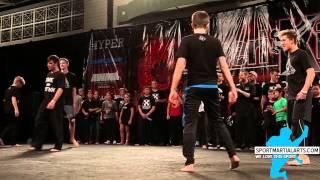 Jackson Rudolph vs Reid Presley - Bo Staff Weapons Battle