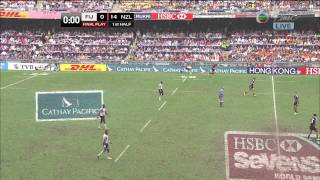 Download [Hong Kong Rugby Sevens 2013] Cup Semi Final - Fiji VS New Zealand Video