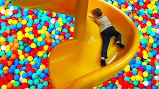 Download Indoor PLAYGROUND Family Fun for Kids - Play Center with Slides and more activities Video
