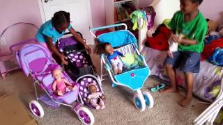Download American Girl,You and me, I'coo doll Stroller Video
