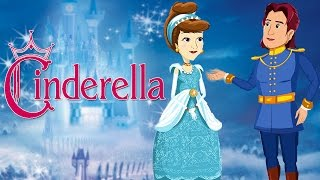 Download Cinderella | Full Movie | Cartoon Animated Fairy Tales For Kids | Princess Fairy Tales Video