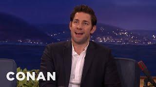 Download Chris Hemsworth's Hot Body Kept John Krasinski From Being Captain America - CONAN on TBS Video