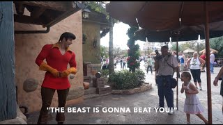 Download Little Girl Puts Gaston In His Place: Disney World 2014 Video
