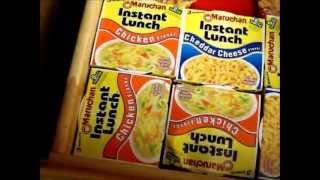Download The Ultimate Dorm food stash! (What food i keep in my dorm) Video