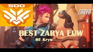 Download INSANE HIGH LEVEL Zarya gameplay on Hollywood -Overwatch - MF Kryw[Rating 86] Video