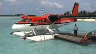 Download Maldives Sea Plane Video