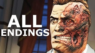Download BATMAN Telltale Episode 4 ALL ENDINGS - Go To Wayne Enterprises | Go To Wayne Manor - All Choices Video