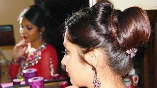 Download Indian Bridal Juda/Updo | Hairstyle Tutorial Video