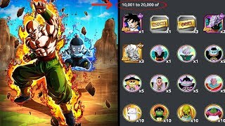 Download TOP 20,000 NOW GET'S THE REWARDS! NEW SSRS GOHAN + MORE! DBZ: Dokkan Battle! Video