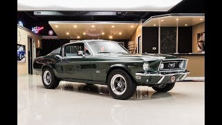 Download 1968 Ford Mustang Bullitt For Sale Video