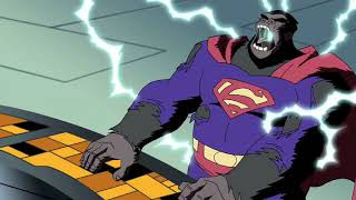 Download Batman, Superman, and Wonder Woman turned into gorillas Video