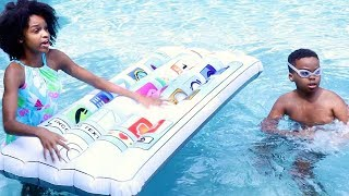 Download HUGE iPHONE In Pool! - Shasha and Shiloh Video