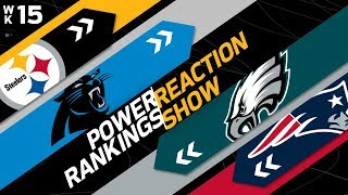 Download Power Rankings Week 15 Reaction Show: Another New #1 in the NFL | NFL Network Video