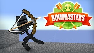 Download Monster School : BOWMASTERS GAME CHALLENGE - Minecraft Animation Video