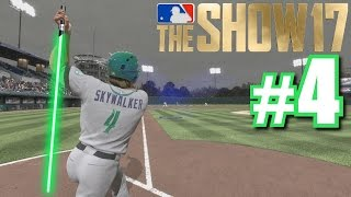 Download USING THE FORCE TO PULL A BALL FAIR! | MLB The Show 17 | Road to the Show #4 Video
