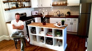 Download IKEA HACK - Kitchen Island DIY Project Video