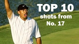 Download Top 10 all-time shots from the 17th hole at TPC Sawgrass Video