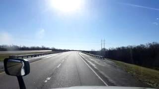 Download Bigrigtravels Live! - Cheneyville to Port Allen, Louisiana - Interstate 49 - January 22, 2017 Video